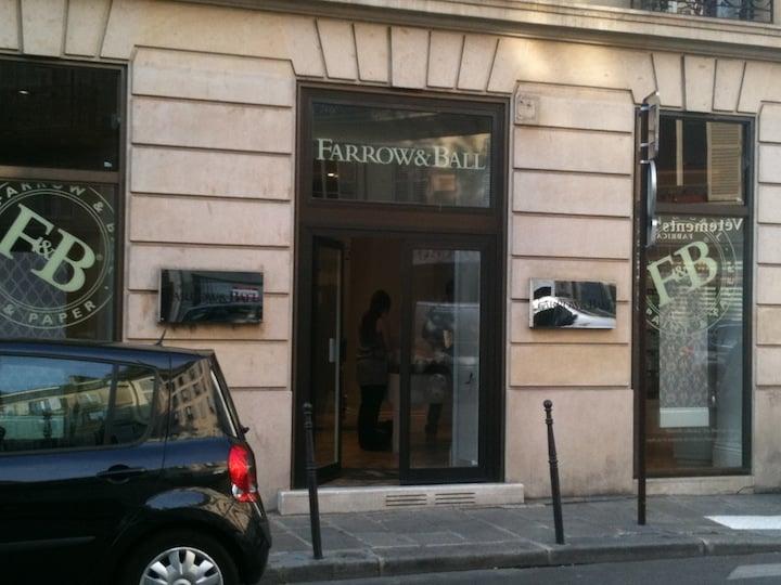 farrow ball home decor marais nord paris france. Black Bedroom Furniture Sets. Home Design Ideas