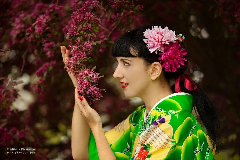 Photo of Japanese dance SF - San Francisco, CA, United States. Geisha /