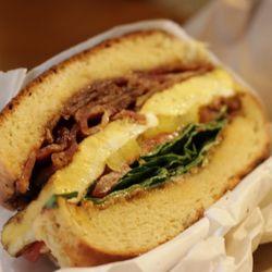 Natalys first sandwich