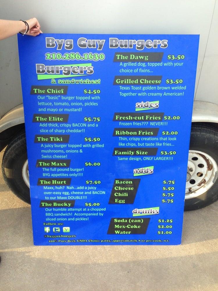Byg Guy Burgers: 902 E 19th, San Angelo, TX