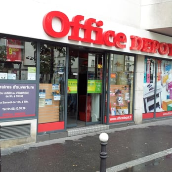 office depot - office equipment - 92 avenue d'italie, place d