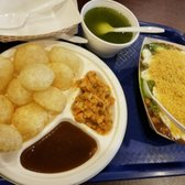 Photo Of Dalicious Indian Restaurant Naperville Il United States Pani Puri And