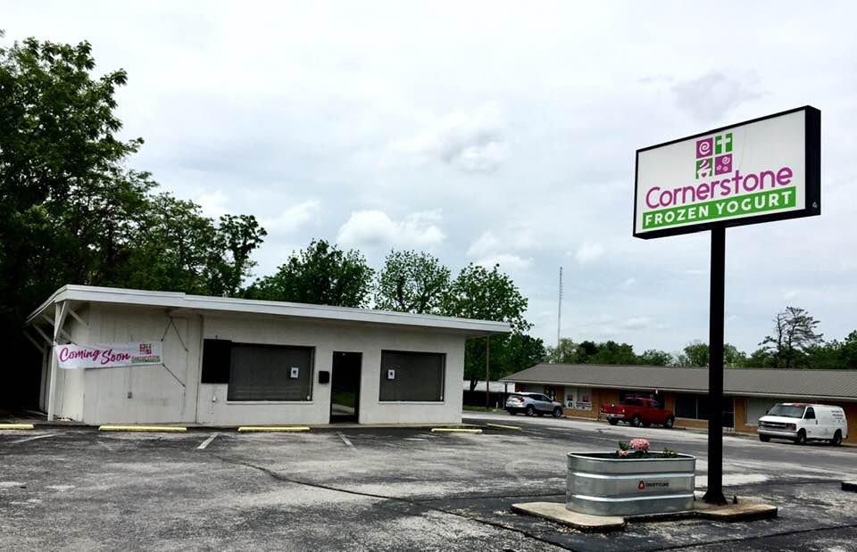 Cornerstone frozen yogurt: 519 West Ave, Crossville, TN