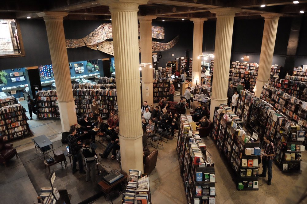 Photo of The Last Bookstore - Los Angeles, CA, United States. View from the second level