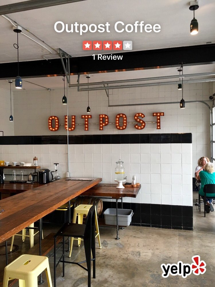 Outpost Coffee: 200 E 4th St, Bartlesville, OK