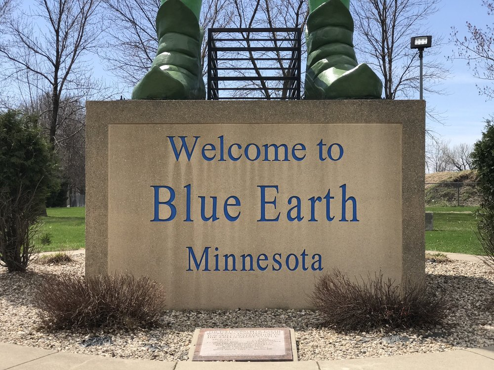Jolly Green Giant: 1130 Giant Dr, Blue Earth, MN