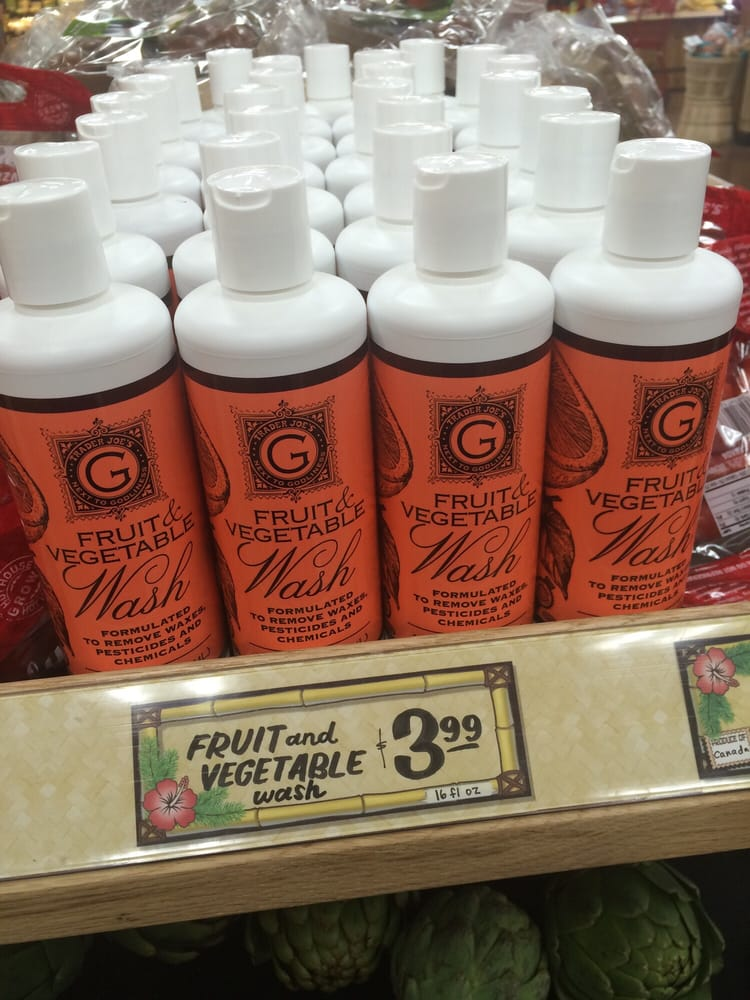 Photo of Trader Joe's - Cottonwood Heights, UT, United States. Fruit and vegetable wash!!! $3.99