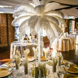 Photo Of Life Arts Center Riverside Ca United States Ostrich Feather Centerpieces