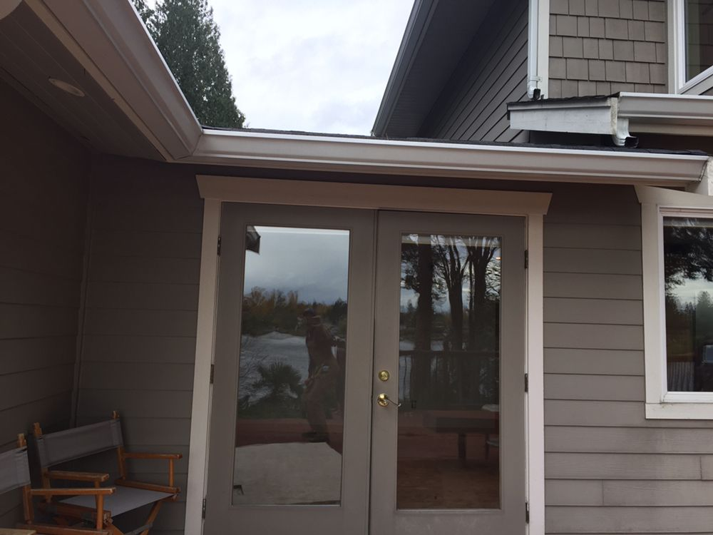 Photo of Cascade Door Repair - Snohomish WA United States. these old wood & these old wood doors are getting replaced with low maintenance ...