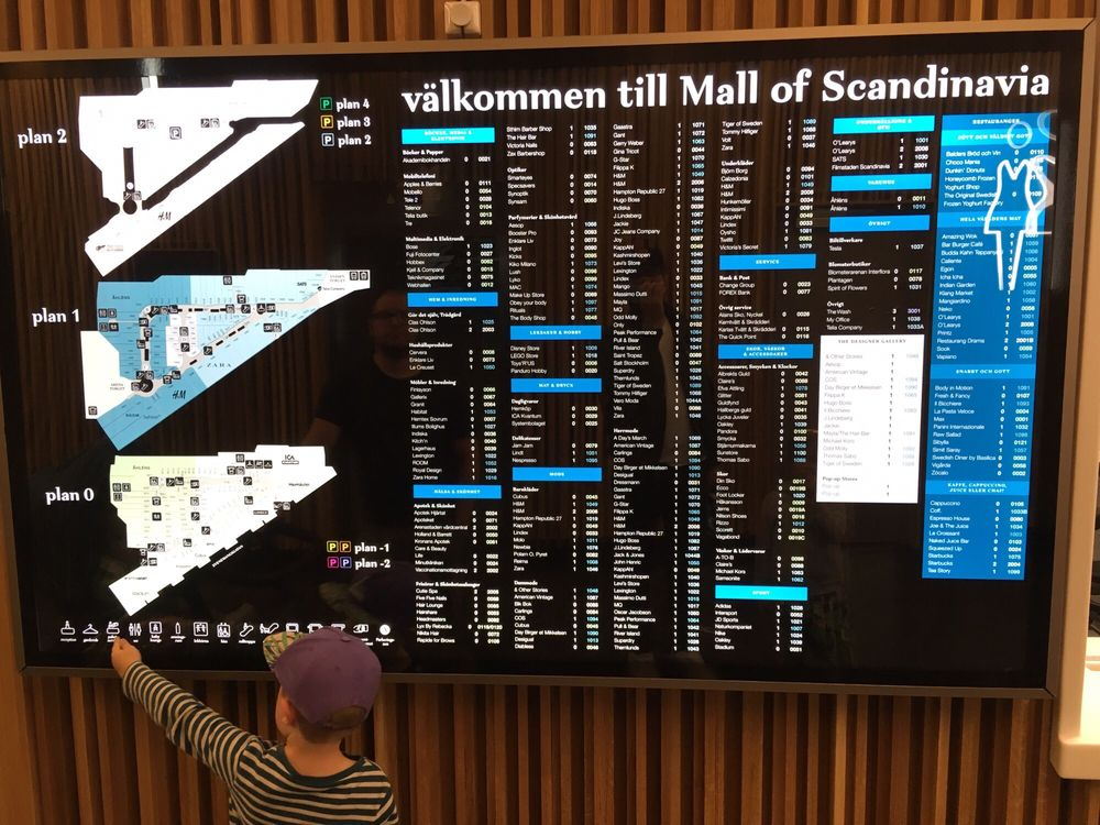mall of scandinavia karta Ljusspel i taket   Yelp mall of scandinavia karta