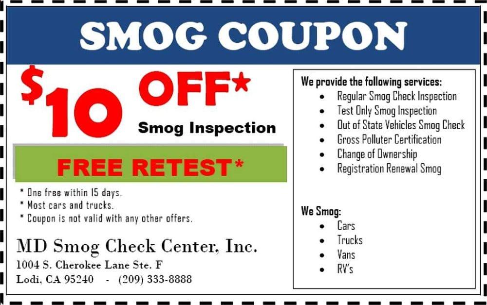 Md Smog Check Center Motor Vehicle Inspection Testing