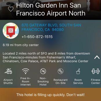 Hilton Garden Inn San Francisco Airport North   102 Photos U0026 131 Reviews    Hotels   670 Gateway Blvd, South San Francisco, CA   Phone Number   Yelp