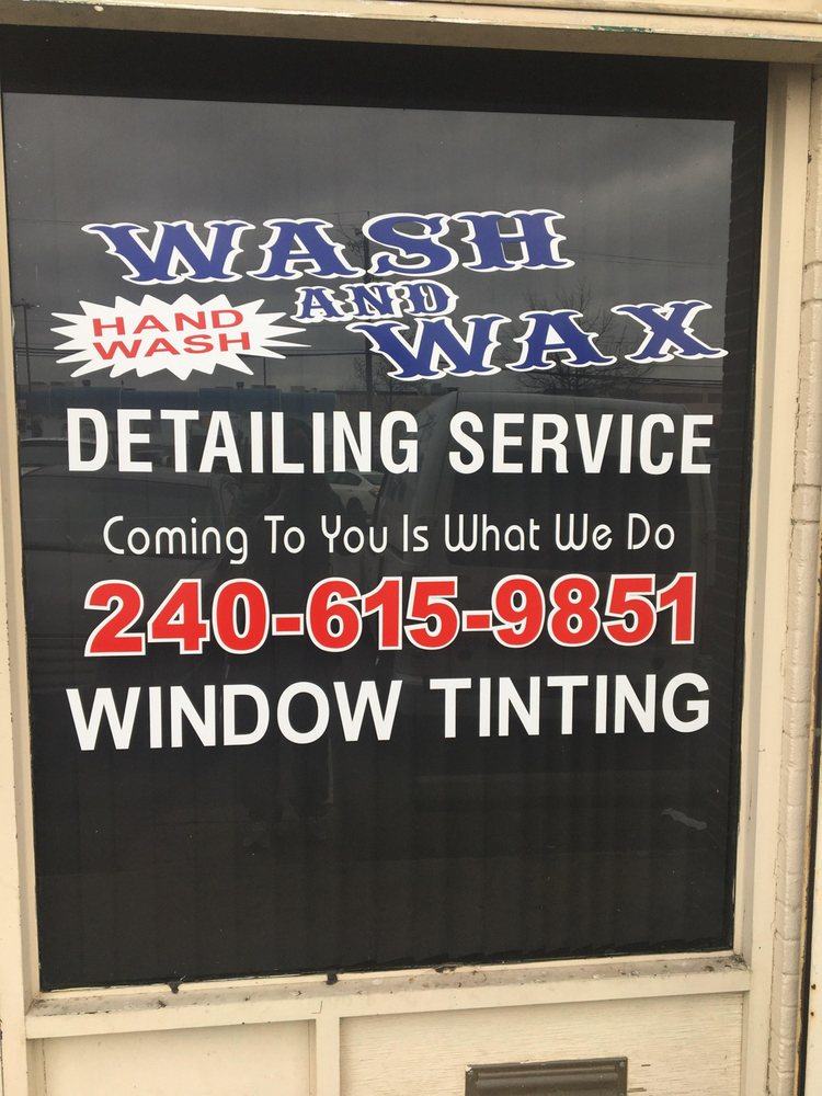Wash and Wax Car Detail and Window Tint: 7824 Parston Dr, District Heights, MD