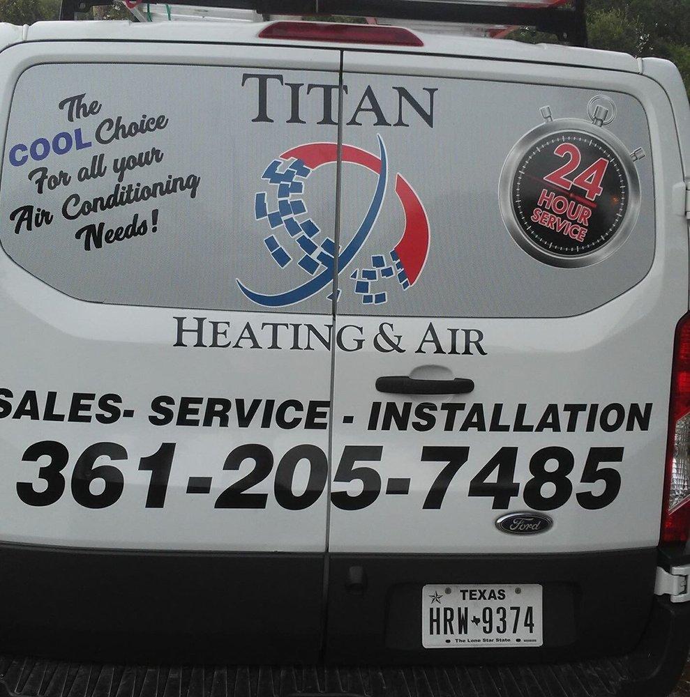 Titan Heating & Air: 139 Fm 774, Refugio, TX