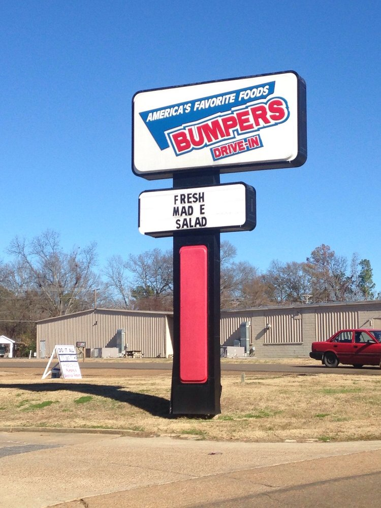Bumper's Drive-in: 513 E Main St, Charleston, MS