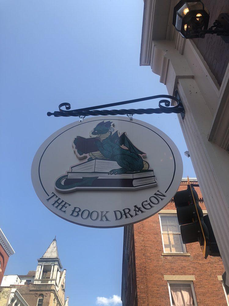 The Book Dragon: 102 W Beverly St, Staunton, VA