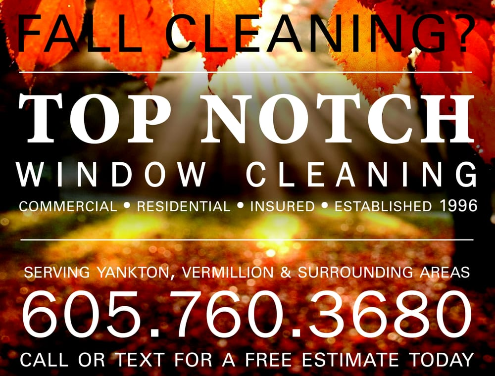 Top Notch Window Cleaning: Yankton, SD