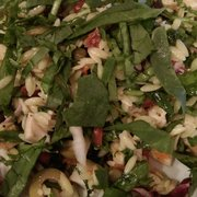 recipe: chicken florentine salad with orzo pasta [33]