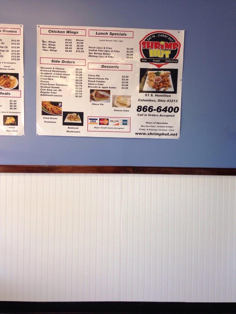 Shrimp hut 17 photos 24 reviews seafood 61 s for Fish restaurants in columbus ohio