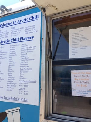 Artic chill shaved ice ga