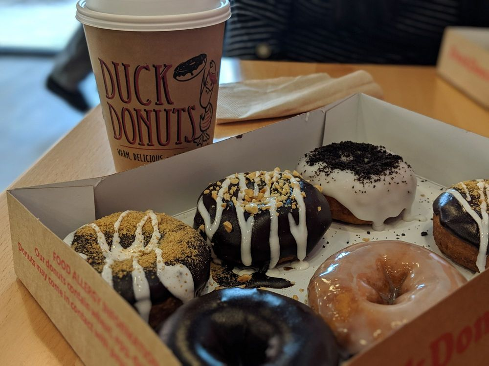 Food from Duck Donuts