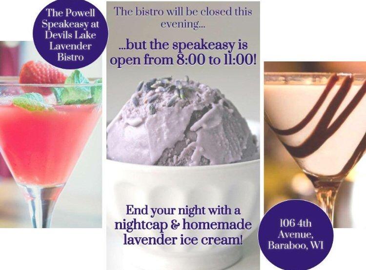 Devil's Lake Lavender Bistro: 106 4th Ave, Baraboo, WI