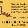Foothill Water: 12425 Krosens Rd, Marysville, CA
