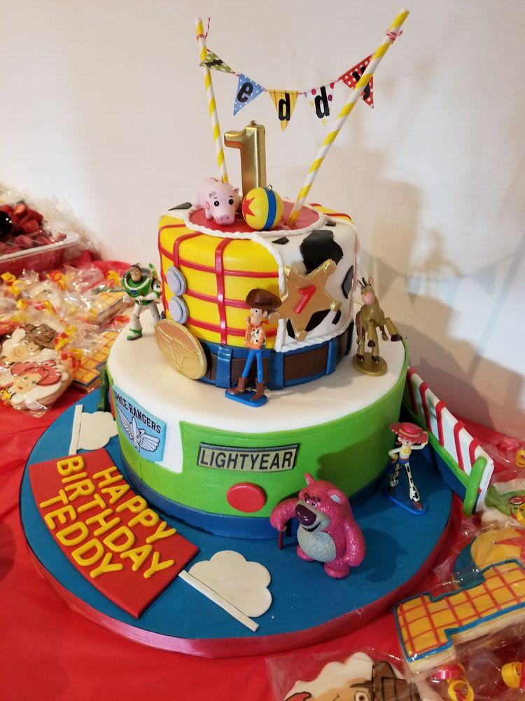 My Sons 1st Birthday Cake Toy Story Theme Amazing Yelp