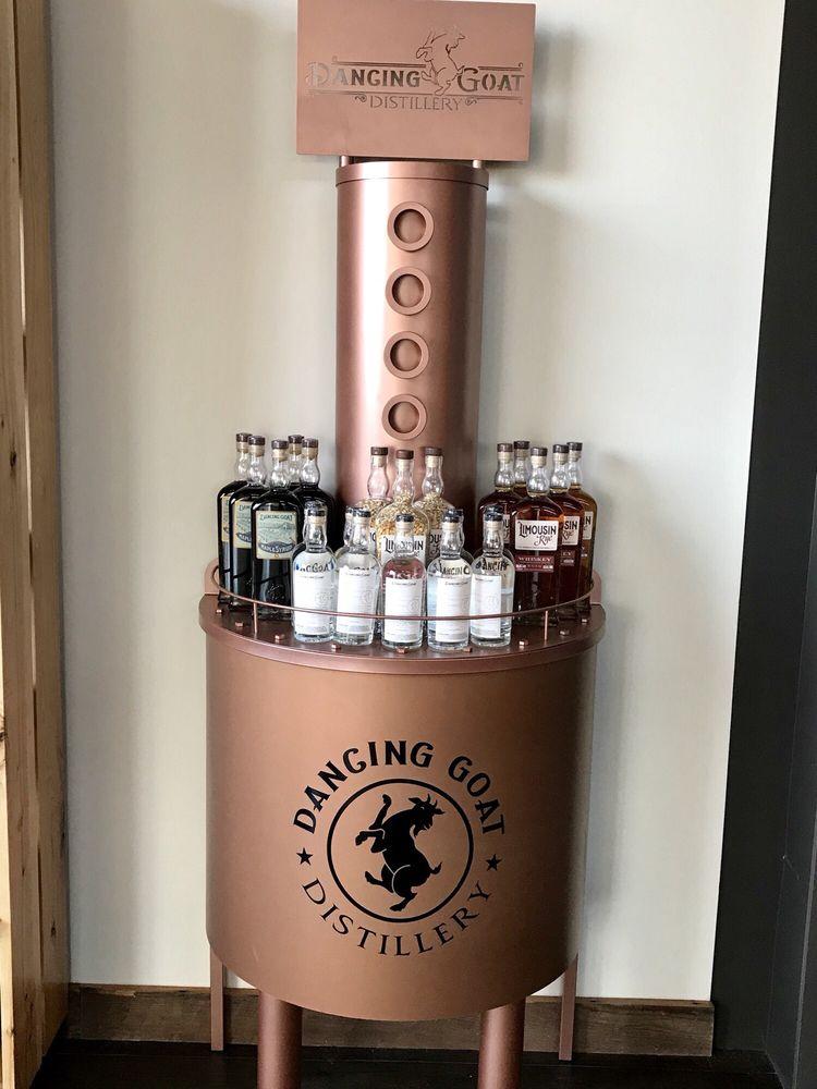 Dancing Goat Distillery: 909 Vineyard Dr, Cambridge, WI