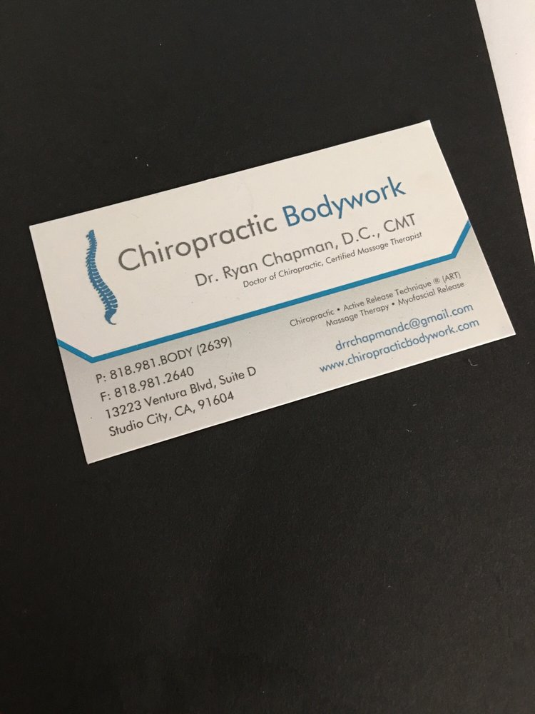 Chiropractic Bodywork - 25 Reviews - Chiropractors - 13223 Ventura ...