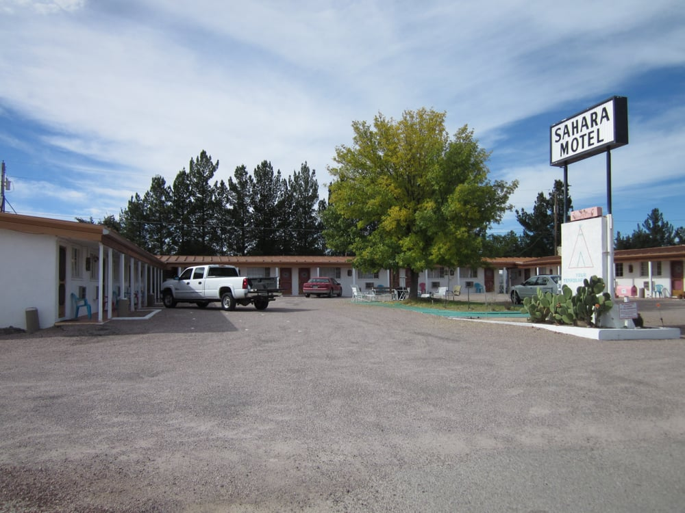 Sahara Motel: 1150 S Hwy 80, Benson, AZ