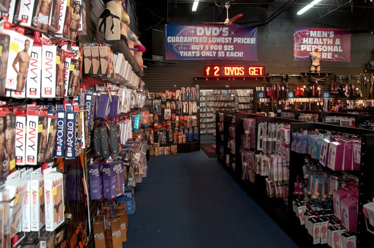 Largest adult store