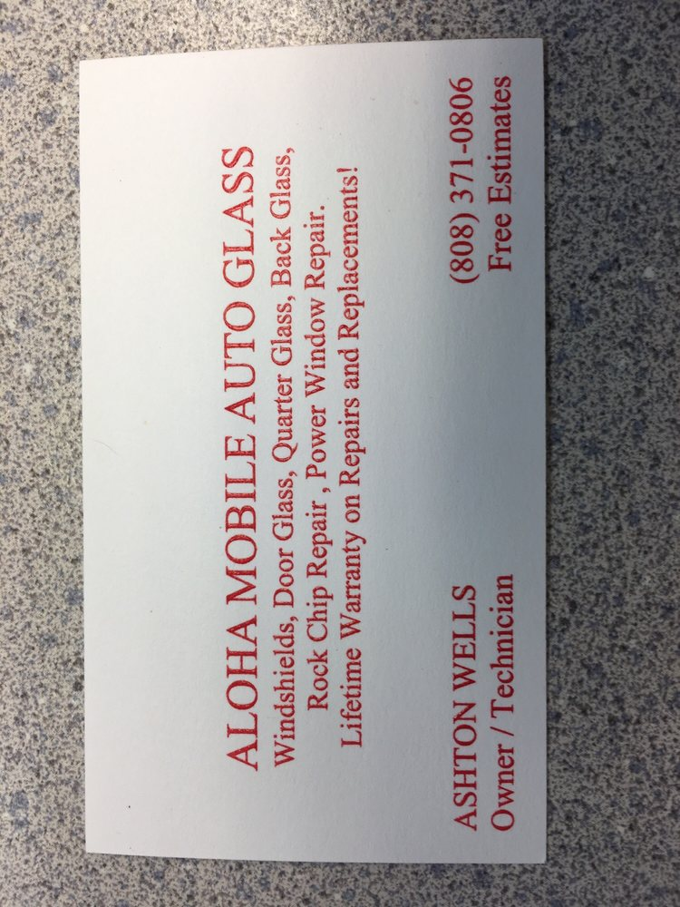 His business card :) - Yelp
