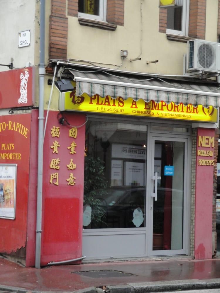 fouk yien chinois 101 ave jean rieux c te pav e toulouse restaurant avis num ro de. Black Bedroom Furniture Sets. Home Design Ideas