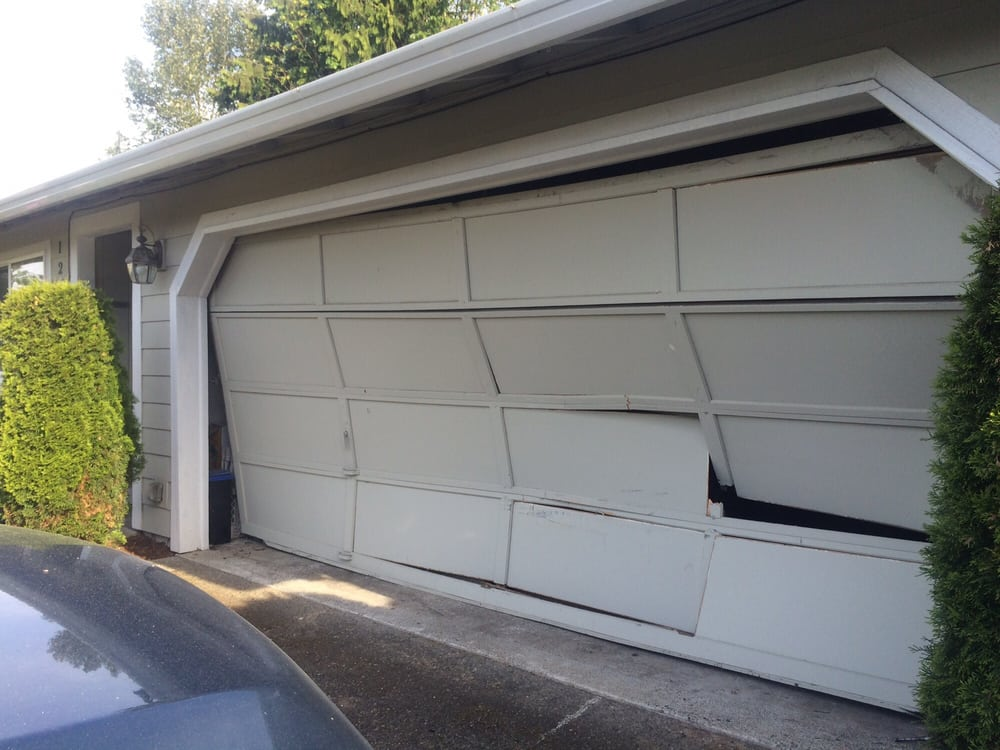 Before repairs yelp for Garage door repair renton