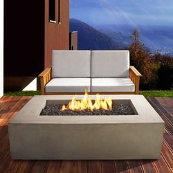 Photo Of Patioworld   Los Angeles, CA, United States. Faux Concrete Fire