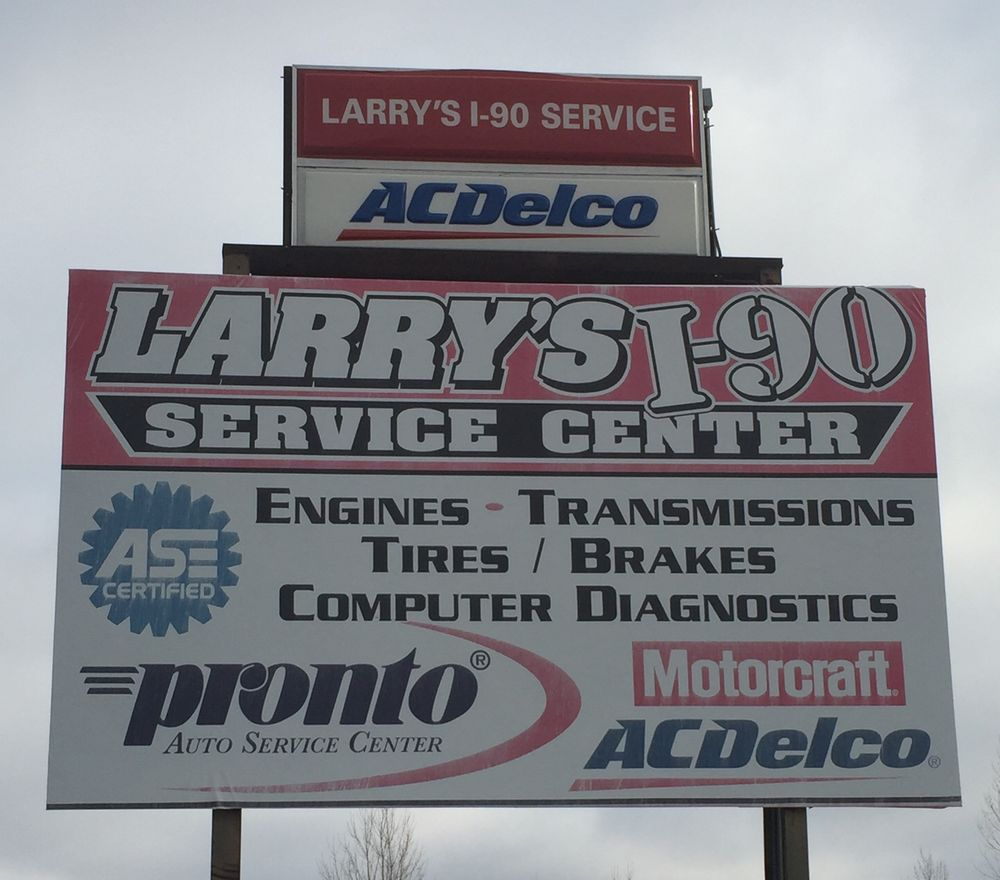 Larry's I-90 Service: 1510 S Burr St, Mitchell, SD