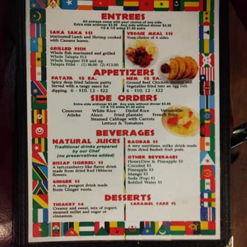 Yassa african restaurant order online 163 photos 130 for African cuisine menu
