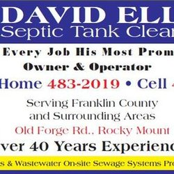 David Ellis Septic Tank Cleaning - Septic Services - 5048
