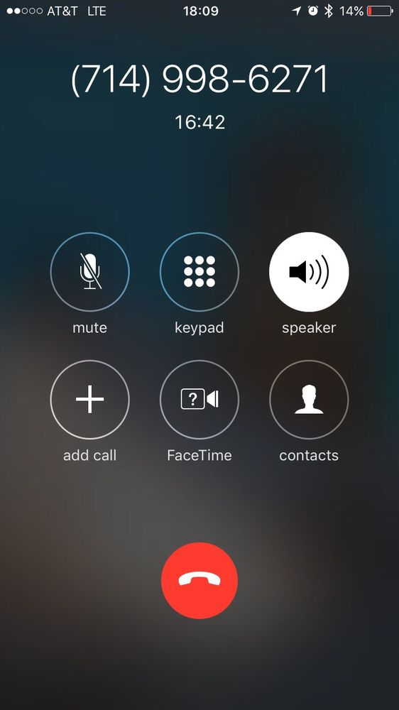 I've been on hold for 17 mins    Gloria was too busy to take