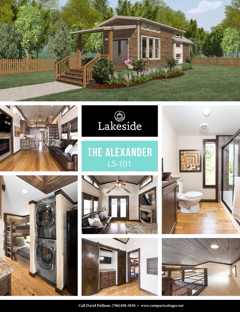 The alexander series yelp for Compact cottages