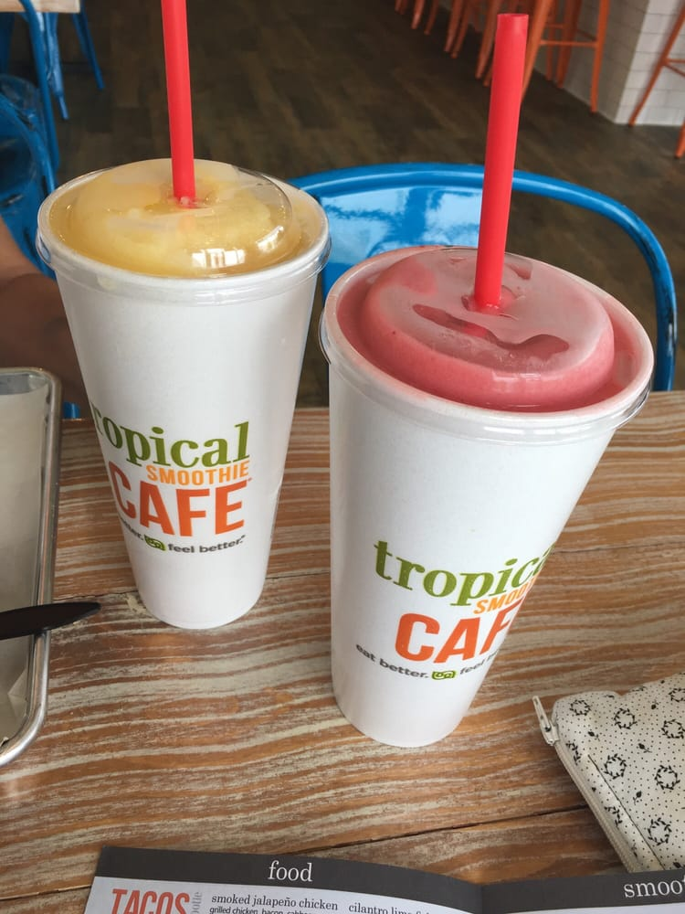 Raves Near Me >> Tropical Smoothie Cafe - 12 Reviews - Juice Bars ...