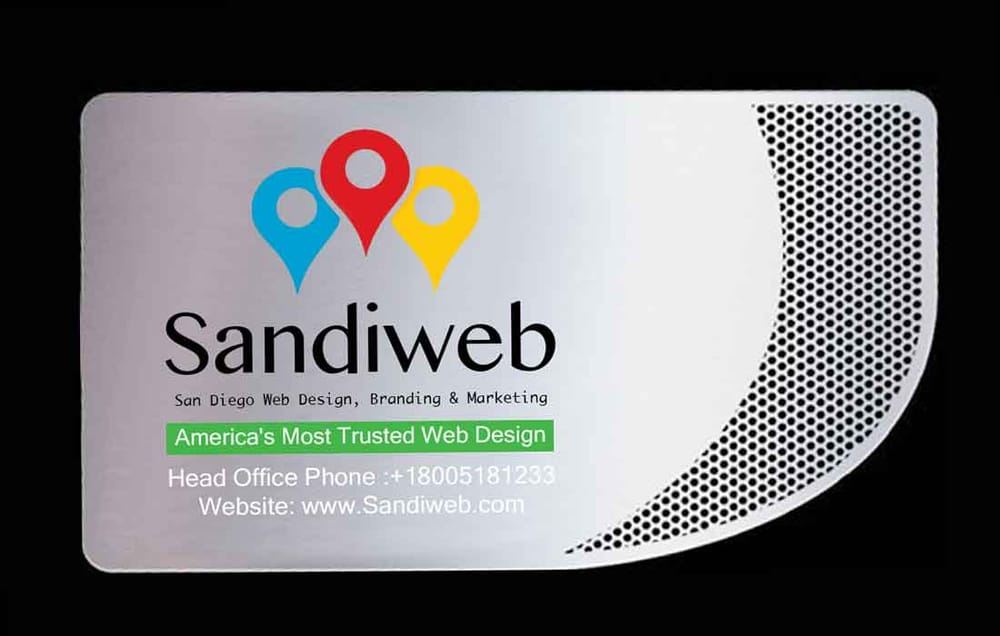 Business cards san diego choice image business card template san diego metal business cards printing by sandiweb yelp photo of sandiweb la jolla ca united reheart Image collections