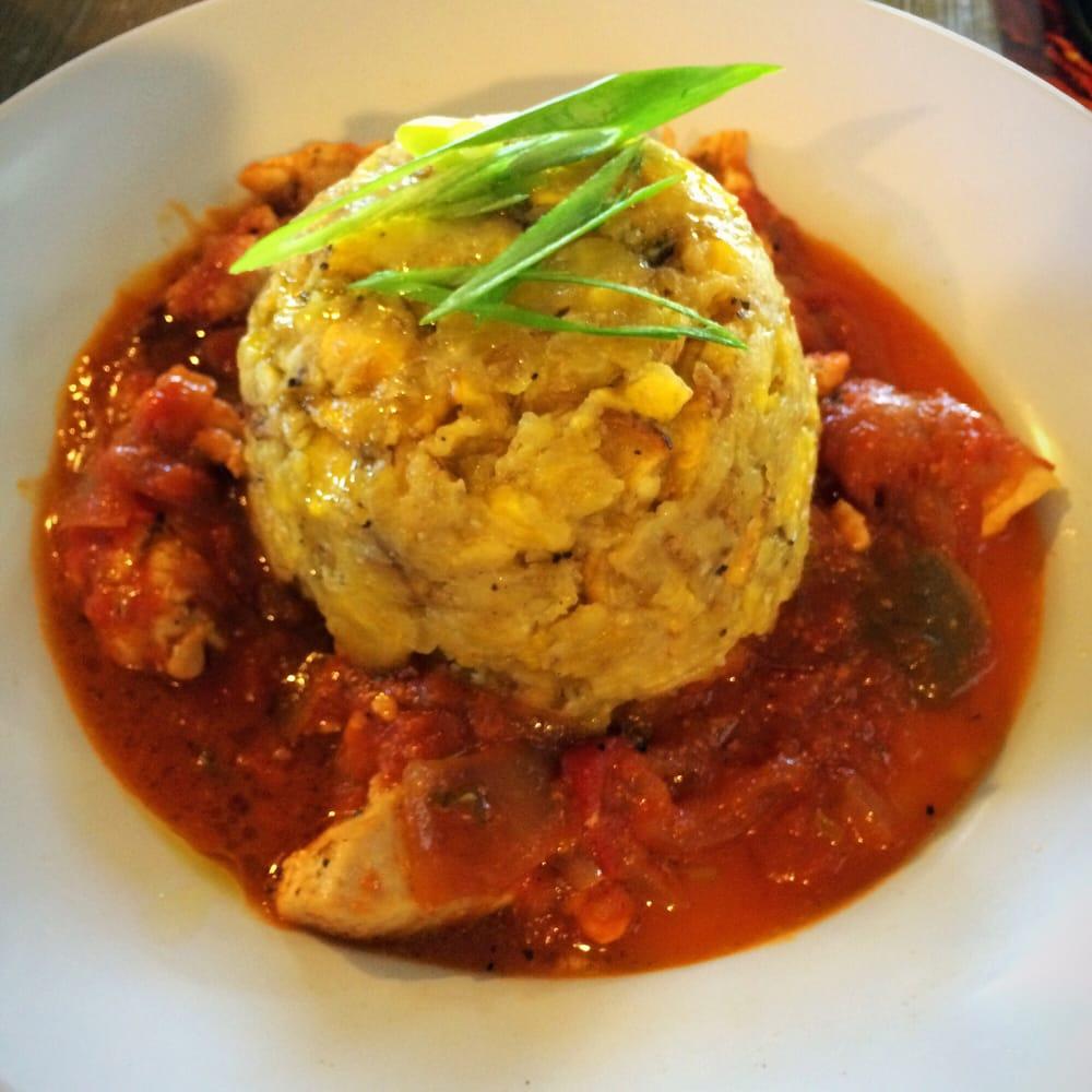 Chicken Mofongo