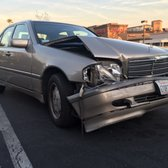 Photo of Erik's Auto Body Shop - Pasadena, CA, United States. My car right after the accident.