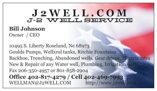 Johnson Water Well Service: Roseland, NE