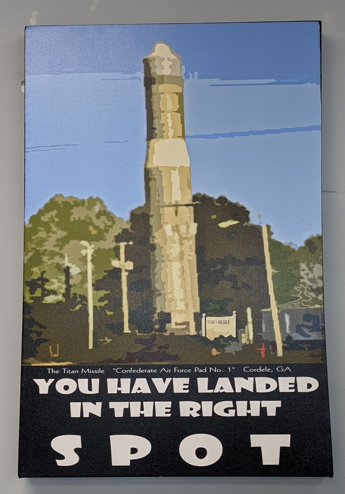 Titan I Missile: 1815 East 16th Ave, Cordele, GA