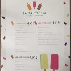 La Paleteria Ice Cream Frozen Yogurt 52 Rue Saint Louis En L