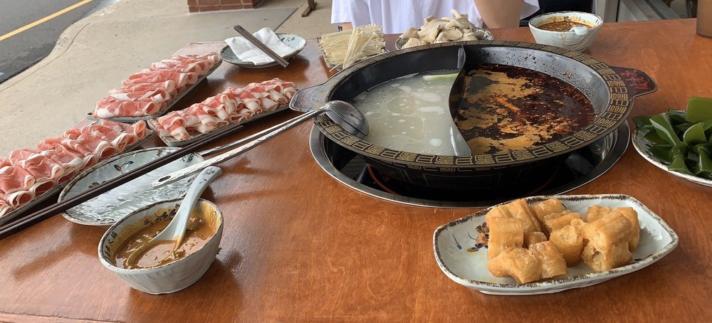 Food from Yin Traditional Hot Pot