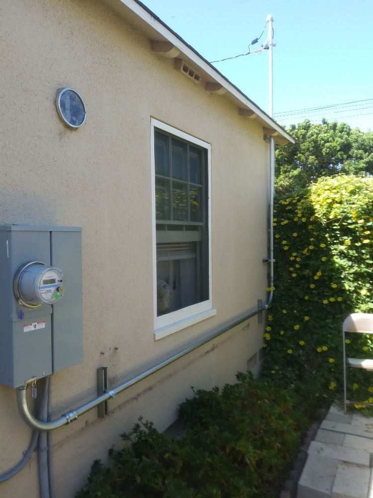 100 amp service upgrade for beach bungalow. Replaced a 30 amp, 120 ...